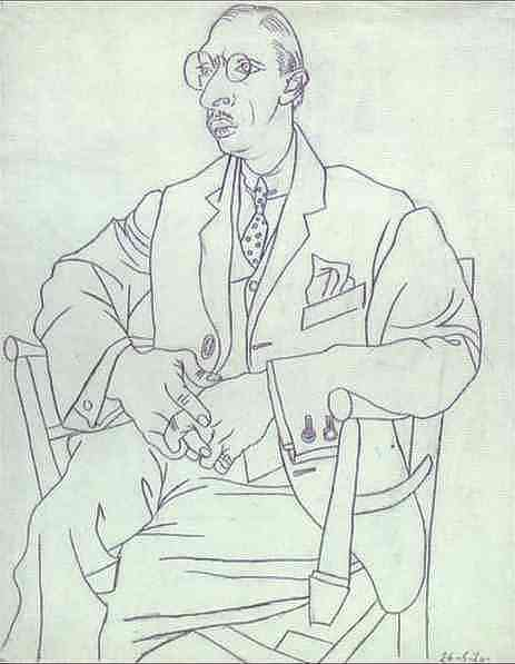 Pablo Picasso Contour Line Drawing : Tj sketch book right side brain drawing igor stravinsky